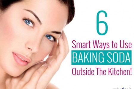 6 Smart Ways to Use Baking Soda Outside the Kitchen Infographic