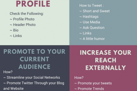 6 Things to do after you Buy Twitter Followers Infographic