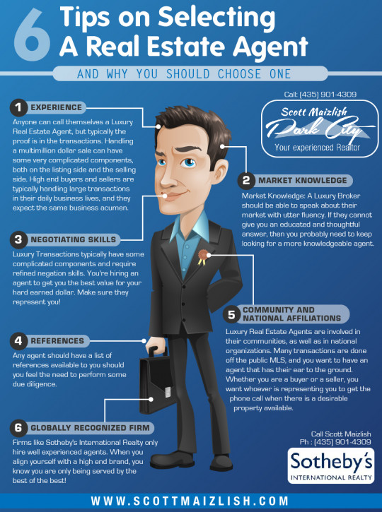 6 Tips on Selecting a Real Estate Agent