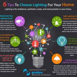 6 Tips To Choose Lighting For Your Home