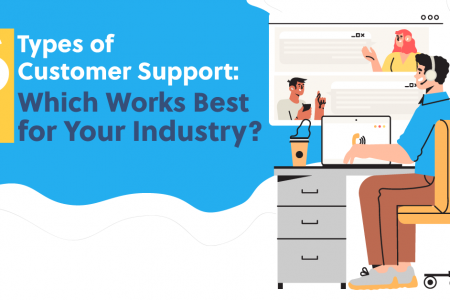 6 Types of Customer Support: Which Works Best for Your Industry? Infographic