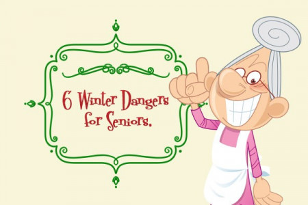 6 Winter Dangers for Seniors (Infographic) Infographic