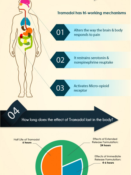 6 Must know facts about Tramadol Infographic