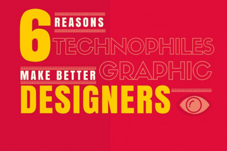 6 Reasons Technophiles Make Better Designers Infographic