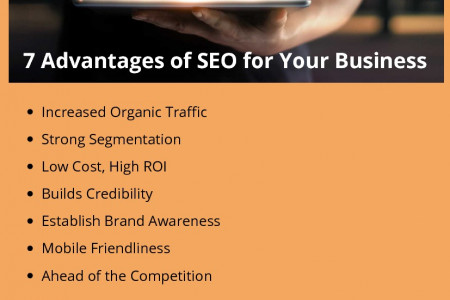 7 Advantages of SEO for Your Business Infographic