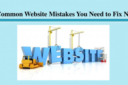 7 Common Website Mistakes You Need to Fix Now Infographic