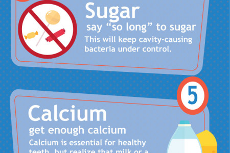 7 Easy Ways to Maintain Good Oral Hygenie Infographic