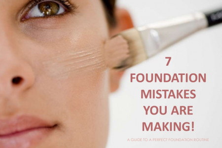 7 Foundation Mistakes You Are Probably Making! Infographic