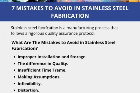 7 MISTAKES TO AVOID IN STAINLESS STEEL FABRICATION Infographic