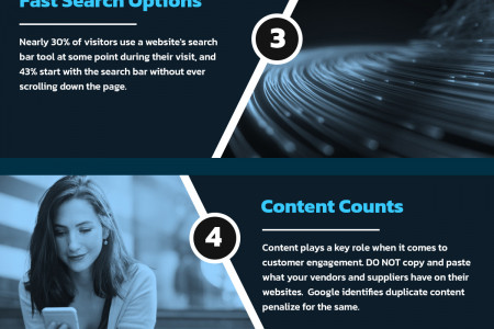 7 Must-Have Features you must include with your e-Commerce Website Infographic