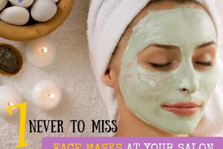7 Never To Miss Face Masks At Your Salon Infographic