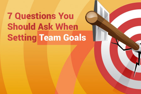 7 Questions You Must Ask When Setting Goals Infographic