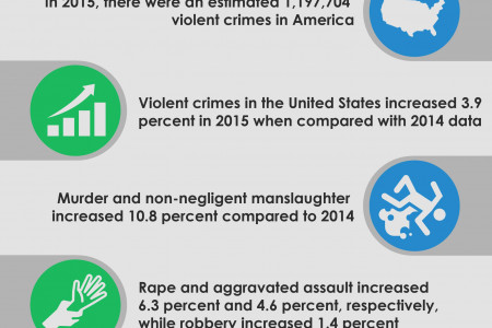 7 Scary Crime Statistics in America 2015 Infographic