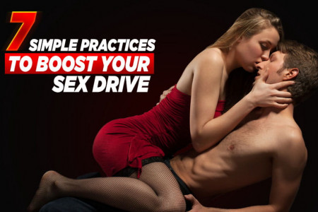 7 Simple tips to boost your sex drive Infographic