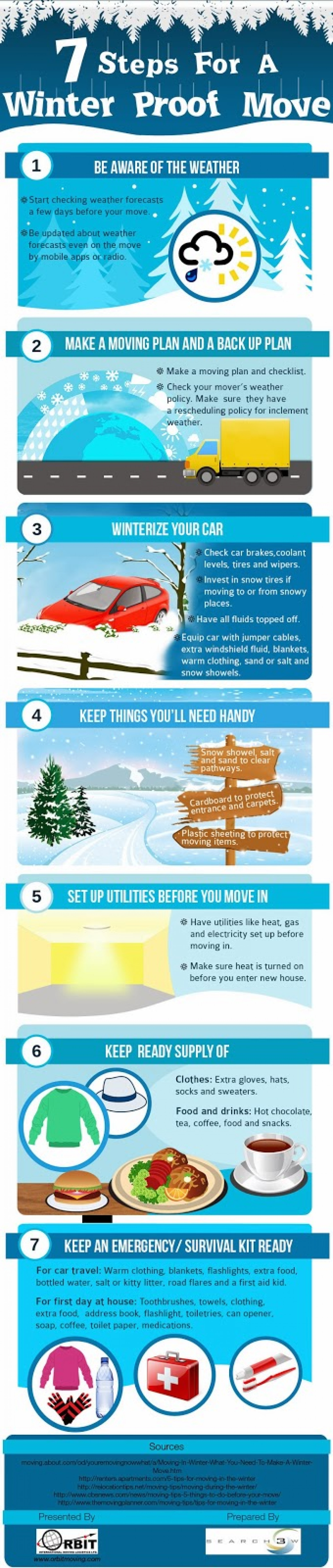 7 Steps For A Winter Proof Move Infographic