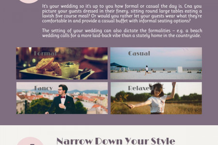 7 Steps to Planning Your Wedding (Infographic) Infographic