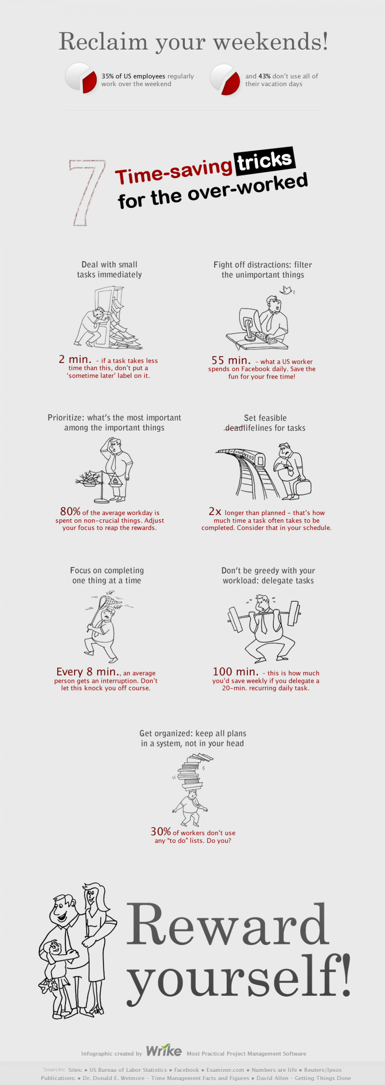 7 Time-Saving Tricks For The Overworked Infographic