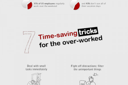 7 Time-saving Tricks for Work Infographic