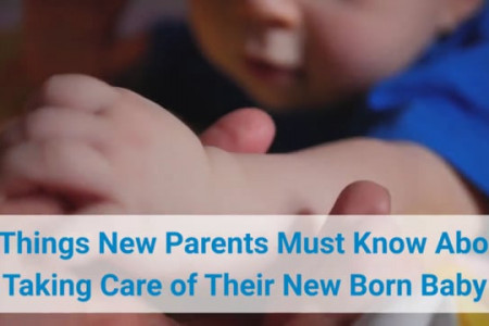 7 Tips to Help Parents with New Born Baby Care Infographic