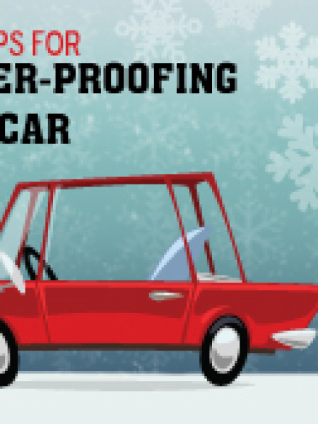 7 Top Tips For Winter-Proofing Your Car Infographic