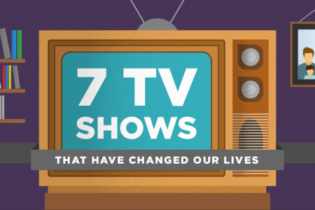 7 TV Shows That Have Changed Our Lives Infographic
