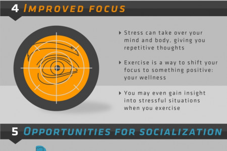 7 WAYS EXERCISE LOWERS YOUR STRESS LEVELS  Infographic