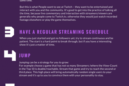 7 Ways to Boost your Twitch View Count Infographic
