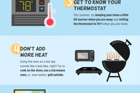 7 Ways to Cut Down Your Summer Energy Bill  Infographic