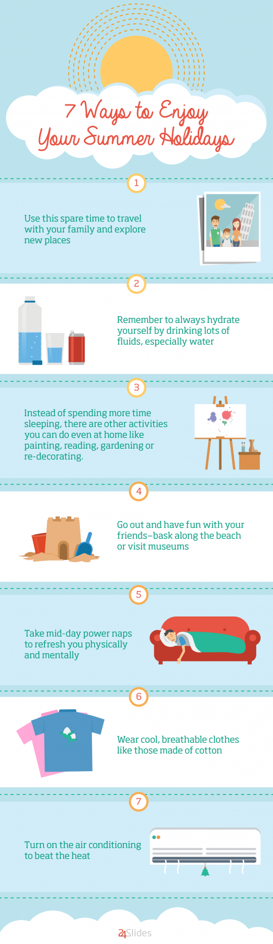 7 Ways to Enjoy Your Summer Holidays