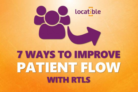 7 Ways to Improve Patient Flow with RTLS Infographic
