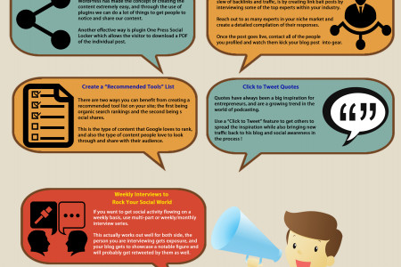 7 Ways to Increase Your Social Shares Infographic