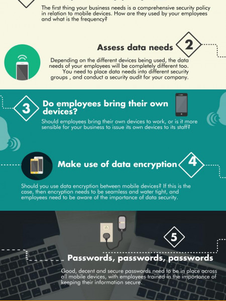 7 Mobile Security Tips  Infographic