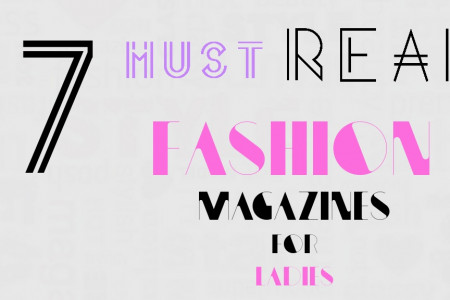 7 Must Read Fashion Magazines For Ladies Infographic