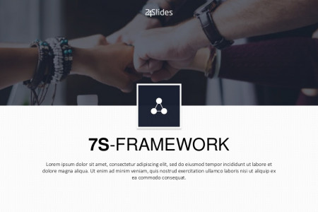 7S Framework PowerPoint Template | Free Download  Infographic