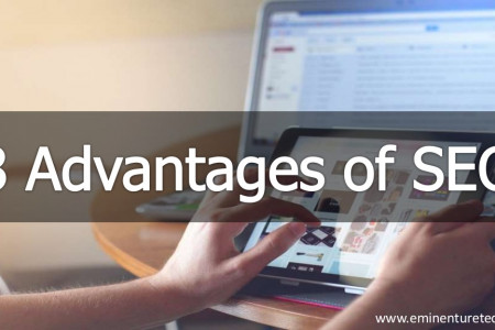 8 Advantages of SEO Infographic