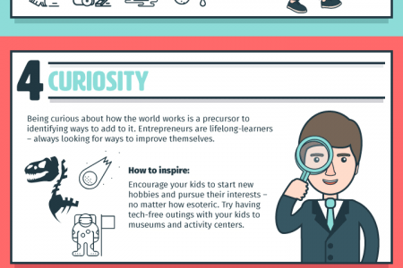 8 Entrepreneurial Skills You Should Teach Your Kids Infographic