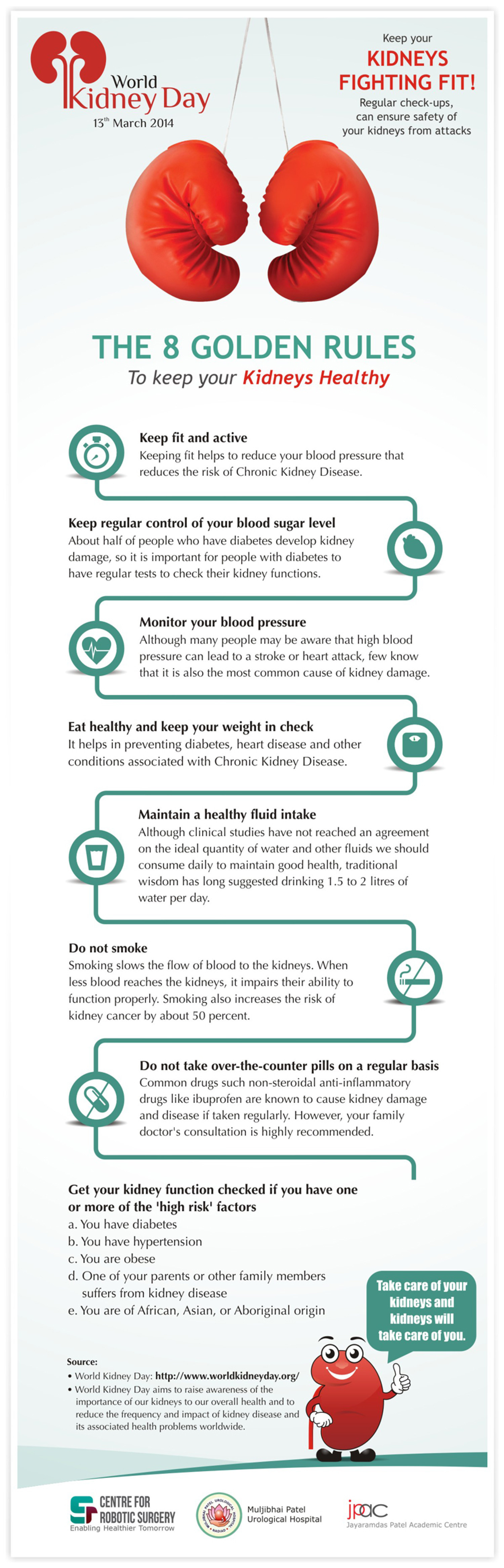 Keep Your Kidneys Fighting Fit! Infographic