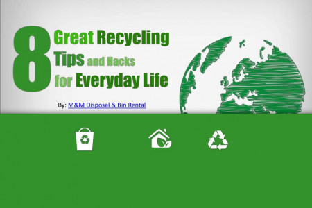 8 Great Recycling Tips And Hacks For Everyday Life Infographic