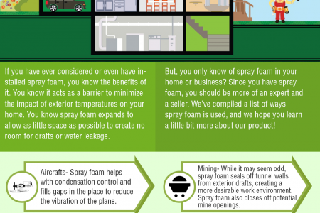 8 Great Ways You Can Use Spray Foam Infographic