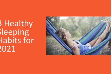 8 Healthy Sleeping Habits for 2021 Infographic