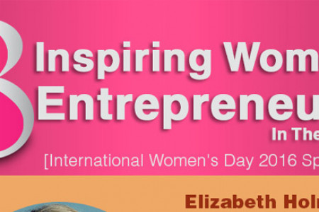 8 Inspiring Women Entrepreneurs In The USA Infographic