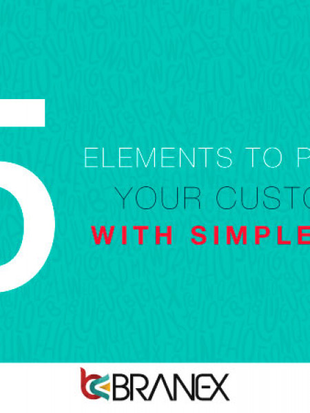 elements to persuade your customer with fonts Infographic