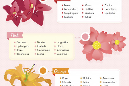 8 Most Common Bouquet Styles Infographic