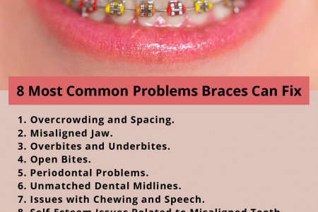 8 Most Common Problems Braces Can Fix Infographic