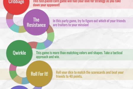 8 of the Best Board Games for an Active Retirement Infographic