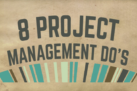 8 Project Management Do's Infographic