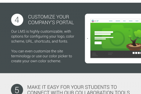 8 reasons to choose MATRIX as your LMS Infographic