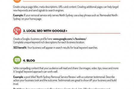 8 SEO Basics To Grow Your Small Business Infographic