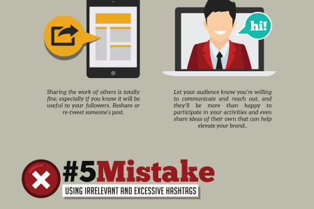8 Social Media Mistakes You Should Avoid Doing Infographic