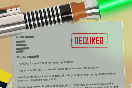 8 Star Wars Characters Applied For A Mortgage And Received These Hilarious (But Fair) Responses Infographic